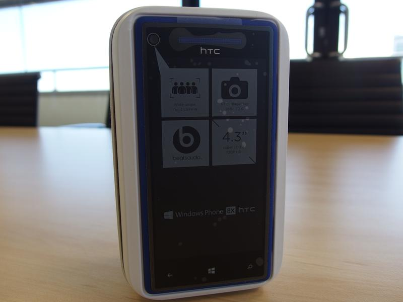 HTC Windows Phone 8X: First look